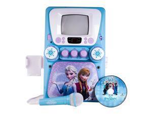 Disney Frozen CDG Karaoke Machine with Monitor