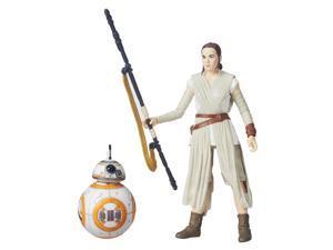 Star Wars: The Force Awakens The Black Series 6-Inch Rey Jakku and BB-8