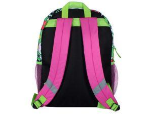 "Cartoon Network Power Puff Girls All Over Print 16""Backpack with Side Mesh Poc"