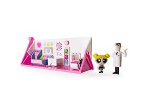 The Powerpuff Girls 2 in 1 Flip to Action Playset