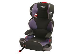 Graco Affix Highback Booster Car Seat with Latch System - Grapeade