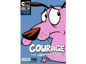 Courage: The Cowardly Dog Season 4 DVD