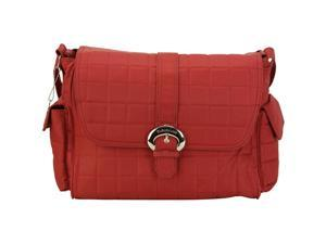 Kalencom Featherweight Nylon Buckle Bag - Rhubarb Red