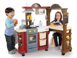 Little Tikes Tikes Kitchen and Restaurant - Red
