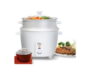 10 cup rice cooker w/ steam tray