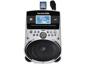 "KARAOKE USA SD516 Portable Karaoke MP3 Lyric Player with 3.2"" Screen & 100 Songs"