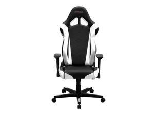 DXRacer Racing Series OH/RE0/NW Racing Bucket Seat Ergonomic Computer Chair with Free Cushions