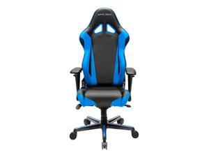 DXRacer Racing Series OH/RV001/NB Newedge Edition Racing Bucket Seat Office Chair Gaming Chair PVC Ergonomic Computer Chair eSports Desk Chair Executive Chair With Pillows