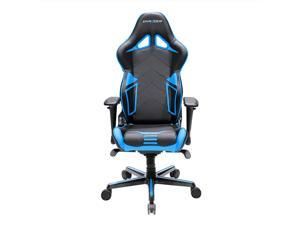 DXRacer Racing Series OH/RV131/NB Newedge Edition Racing Bucket Seat Office Chair Gaming Chair PVC Ergonomic Computer Chair eSports Desk Chair Executive Chair With Pillows