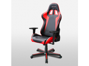 DXRacer Formula Series OH/FH00/NR Newedge Edition Racing Bucket Seat Office Chair Pc Gaming Chair Computer Chair Vinyl Desk Chair With Pillows