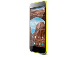 Blu Dash 5.0 D410a Yellow 3G Dual-Core 1.3GHz Unlocked GSM Dual-SIM Android Cell Phone