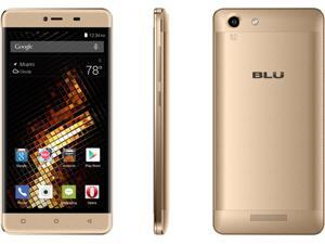 BLU Energy X 2 - With 4000 mAh Super Battery - US GSM Unlocked Smartphone - Gold E050u