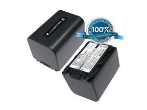 1500mAh Battery For SONY DCR-SX44/R, DCR-SX63, DCR-SX63E, DCR-SX63E/S, DCR-SX83