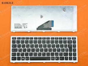 FR Keyboard for LENOVO U310 WHITE FRAME BLACK
