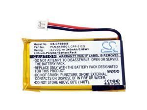 240mAh Li-Polymer Battery for Plantronics Headset CS50-USB