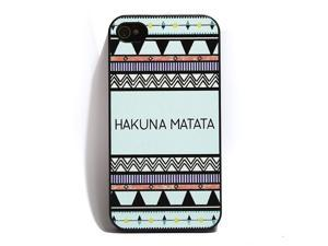Hakuna Matata Plastic Shell Hard Case Cover Protector for iPhone 4 4s