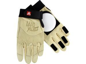 LANDYACHTZ LEATHER SLIDE GLOVES XL-KHAKI