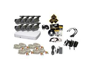Q-See 16 Channel DVR with 8 Cam