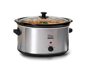 Maxi Matic USA 8.5Qt Slow Cooker S. Steel