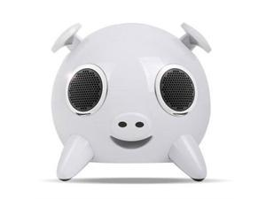 Amethyst Innovations Pig Bluetooth Speaker White