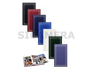 Pioneer JPF-46 Hunter Green Slim Line Post Bound, Clear Pocket Photo Album with Solid Color Covers, Holds 204 4x6 Photos, ...