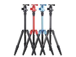 SIRUI T-005X Red Ultra-Compact Aluminum Alloy Tripod Kit with C10X Ballhead