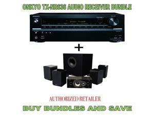 Onkyo TX-NR636 7.2-Channel  A/V Receiver PLUS Energy 5.1 Take Classic Home Theater System