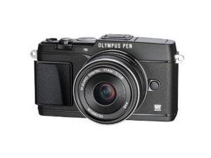 Olympus E-P5 17mm f1.8 and VF-4 16.1 MP Compact System Camera with 3-Inch LCD