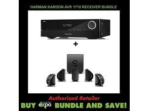 Harman Kardon AVR 1710 7.2-Channel Cambridge Audio Minx S215 v2 - 5.1 Home Cinema System
