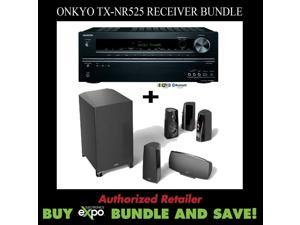 Onkyo TX-NR525 5.2 Receiver and Definitive Technology ProCinema 400