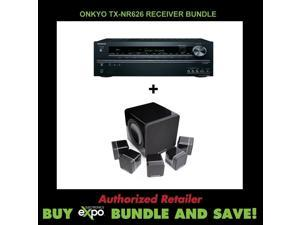 Onkyo TX-NR626 7.2-Channel Cambridge Audio Minx S215 v2 - 5.1 Home Cinema System
