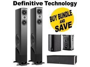 definitive aw6500. definitive technology bp9020 tower powered subwoofer(single ) + cs9040 aw6500