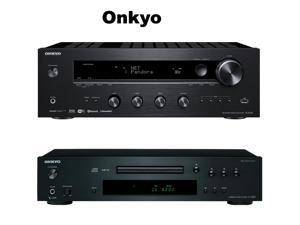 Onkyo Network Stereo Audio Component Receiver, (TX-8140) + Onkyo C-7030 Compact Disc Player () Bundle