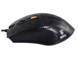5000 DPI 60 inches/S USB 2.0 Wired Gaming Laser Mouse (Black)
