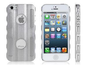 Metal Stencil Protective Case for iPhone 5/5s (Silver)