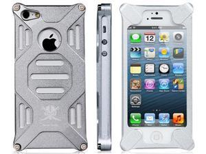 Unique Aluminum Case for iPhone 5/5s (Silver)