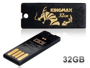 KINGMAX Super Stick Mini 32GB USB 2.0 Flash Drive (Black)