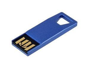 Zipper Design 8GB USB Flash Drive (Blue)