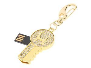 Gold Key Feature USB Flash Drive 32GB