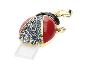 16GB Metal Jewelry Ladybug USB Flash Drive
