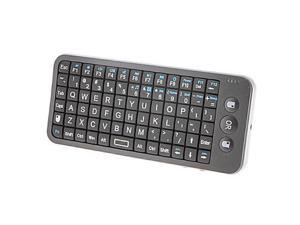 SW-A335 Mini Wireless 2.4G Remote Control Game Pad Keyboard(Black)