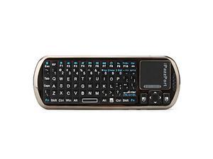 iPazzPort Mini Wireless IR Remote Keyboard (Black)