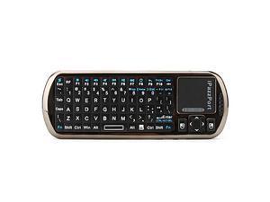 iPazzPort Mini Wireless IR Remote Keyboard (Black)