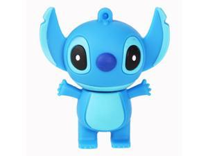 32GB Stitch USB Flash Drive Blue
