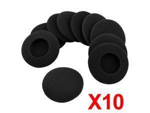 10 X Headphone Earphone Foam Ear Pad Earpad Cover 64mm