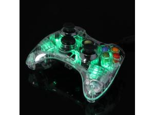 Microsoft Xbox 360 Afterglow LED PDP Wired Controller Green