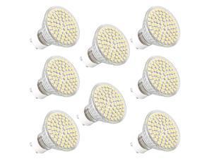 8 GU10 72 LED 3528 SMD Warm White Down Spot Light Bulb Lamp 220V-240V