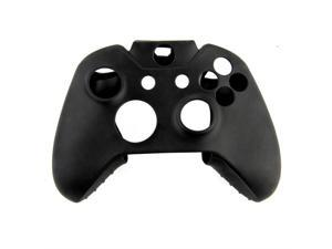 Soft Silicone Gel Protective Skin Cover Case for XBOX ONE Controller Black