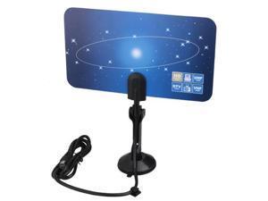 VHF UHF Digital TV DTV HDTV Flat Indoor Antenna 1080i 1080p 720p