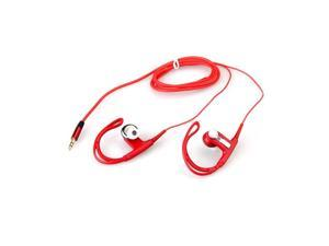 3.5mm Sport Running Red Ear Hook Earphone Headphone Headset for iPod MP3 MP4
